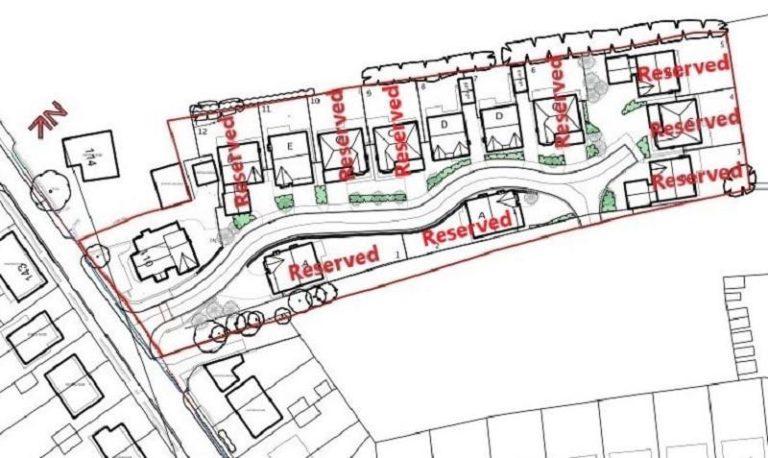 Whinney Lane siteplan
